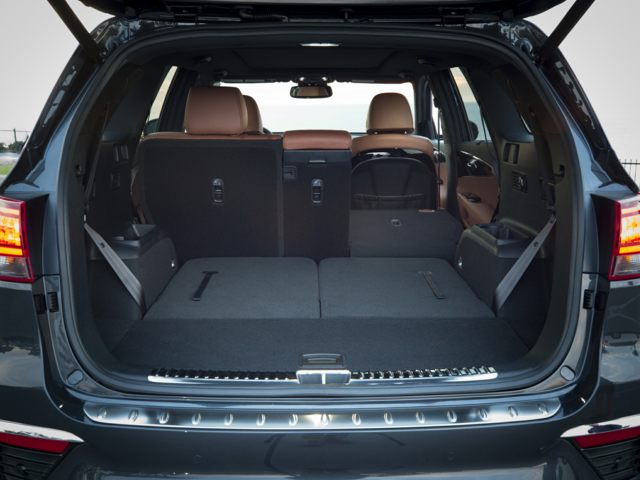 Kia Sorento Storage Space