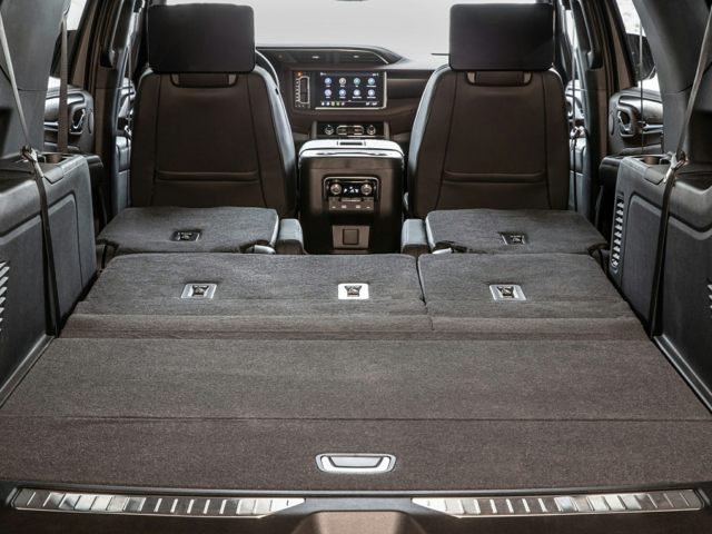 2021 GMC Yukon XL Rear Seats