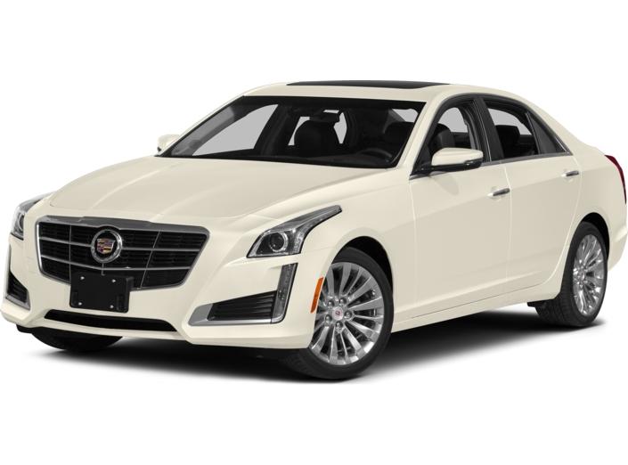 2014 Cadillac CTS 2.0L Turbo Luxury AWD White Plains NY