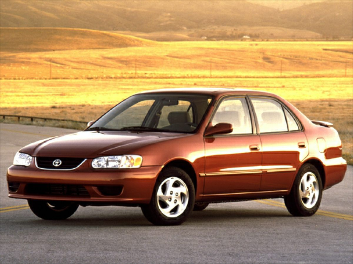 used 2001 Toyota Corolla car, priced at $4,488