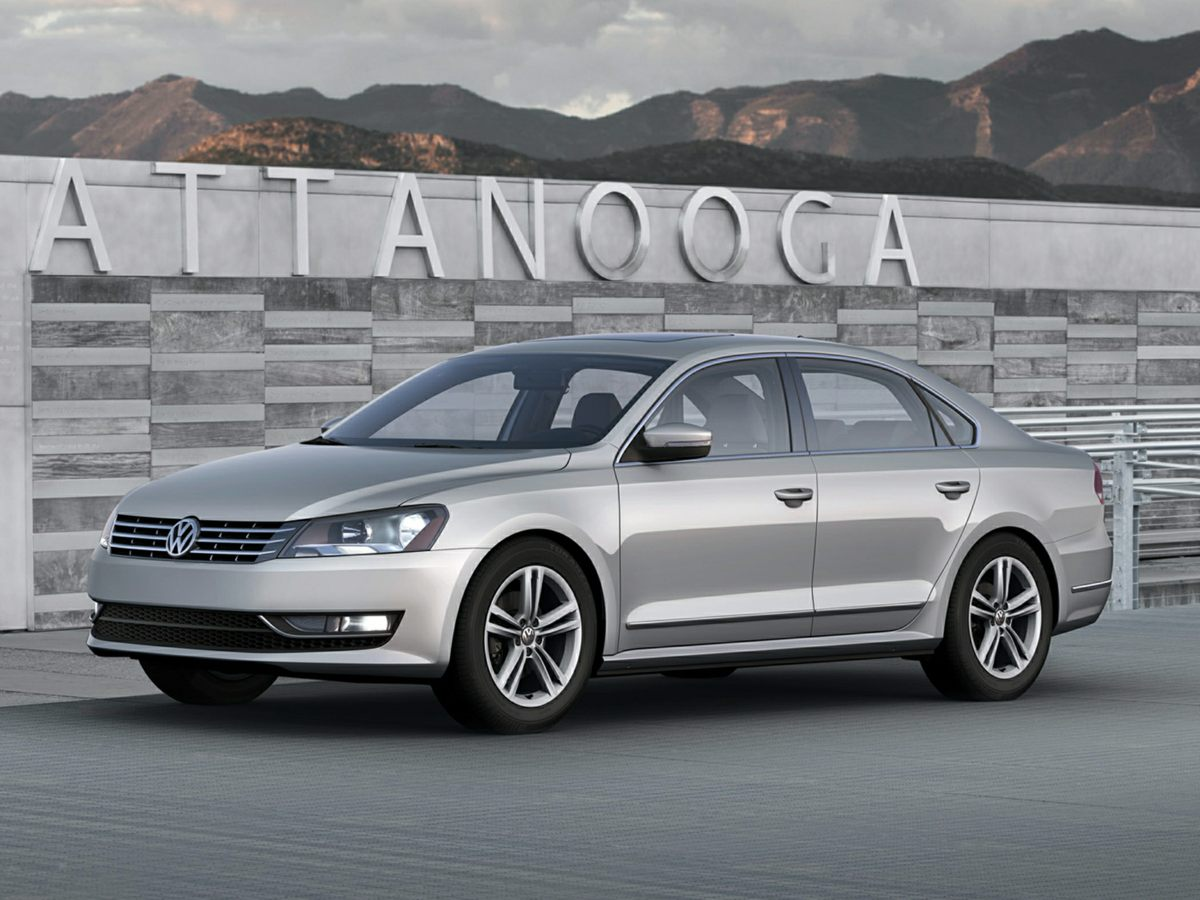 used 2015 Volkswagen Passat car