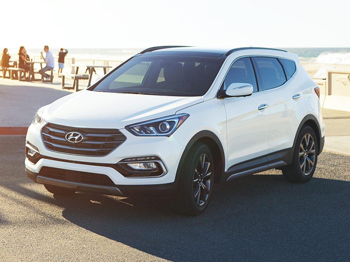used 2018 Hyundai Santa Fe Sport car, priced at $20,499