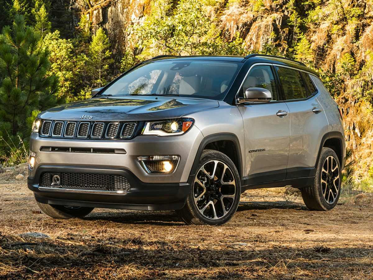 new 2019 Jeep Compass car, priced at $33,430