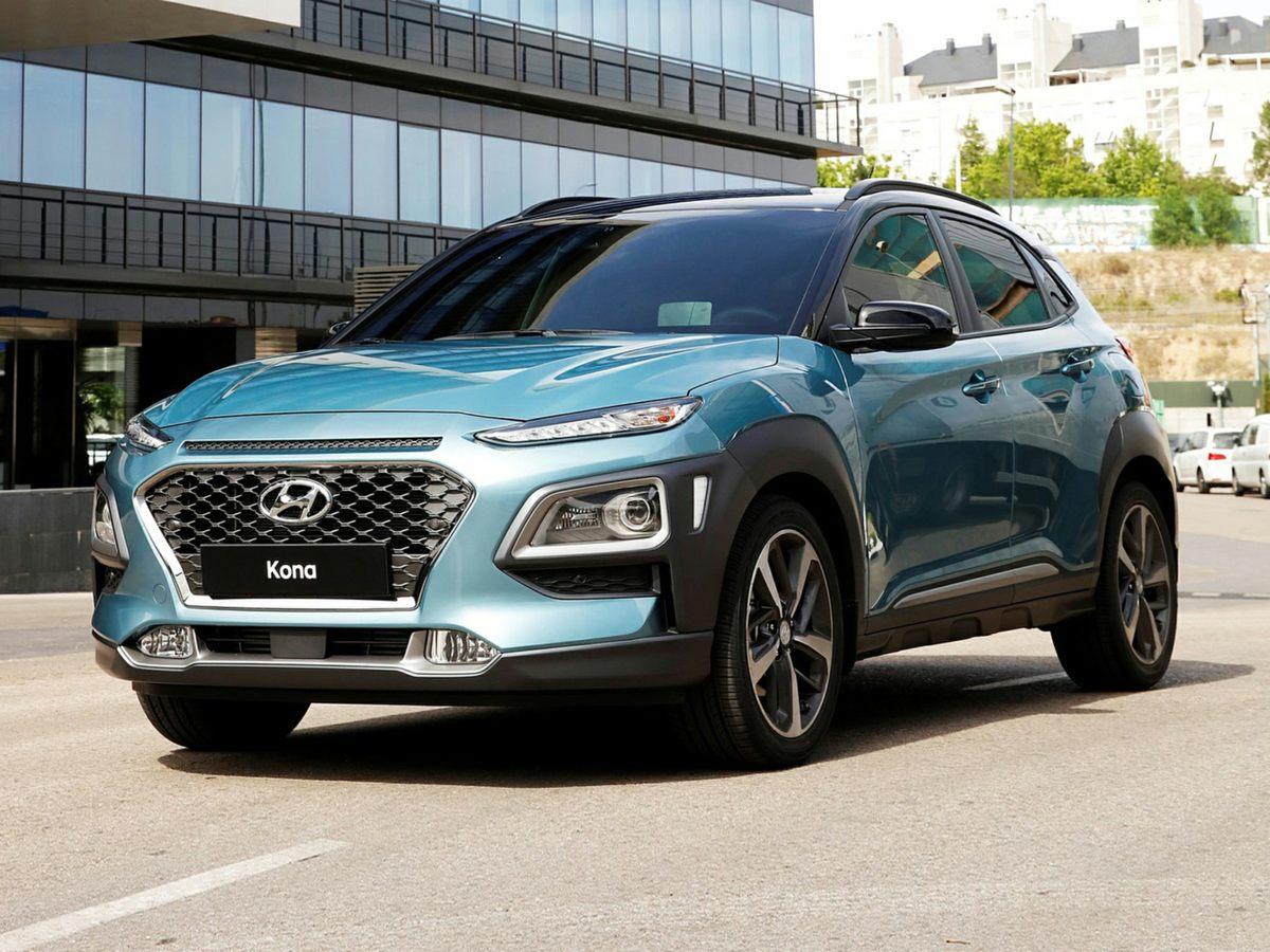 new 2021 Hyundai Kona car, priced at $24,355