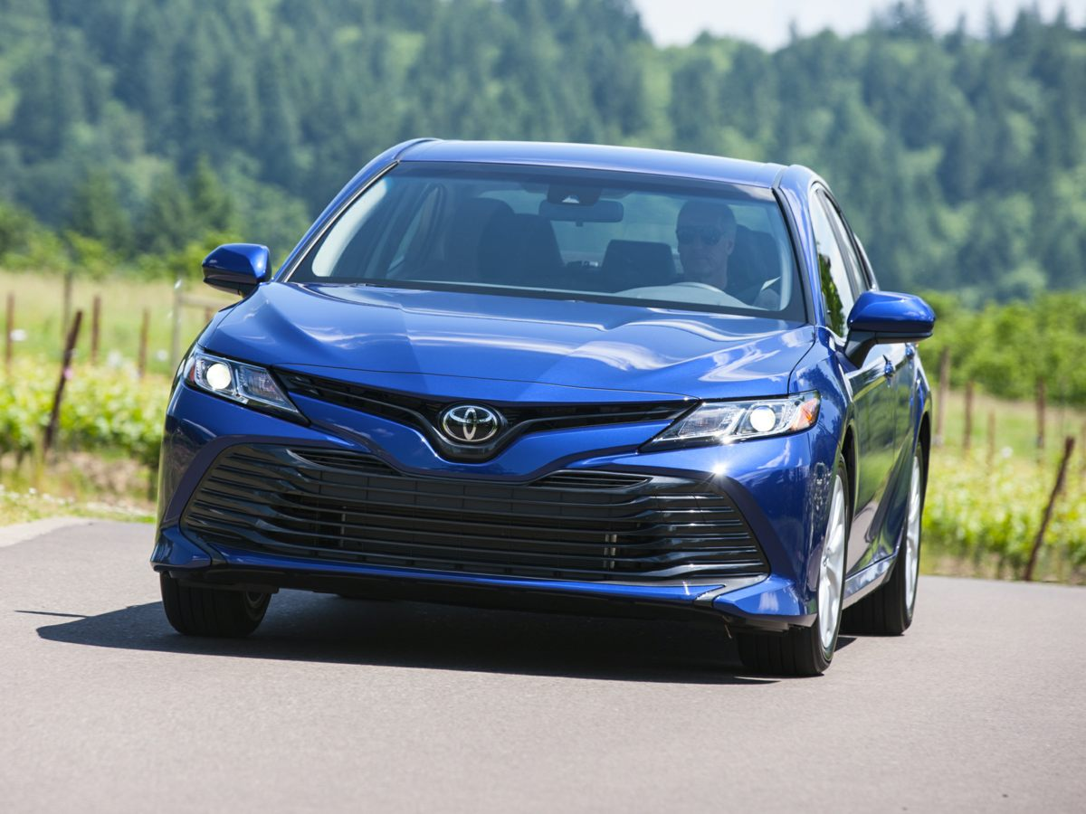 used 2018 Toyota Camry car, priced at $17,886