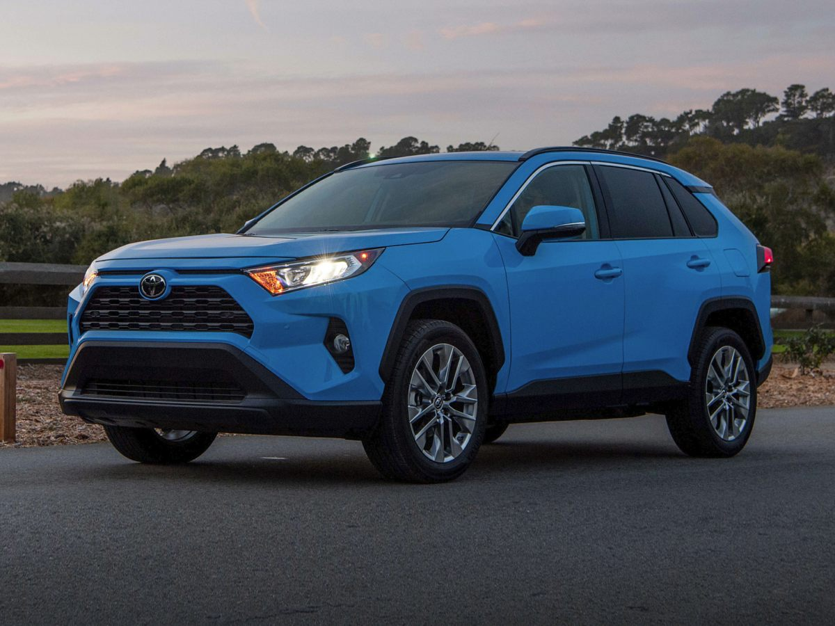 used 2019 Toyota RAV4 car, priced at $29,200