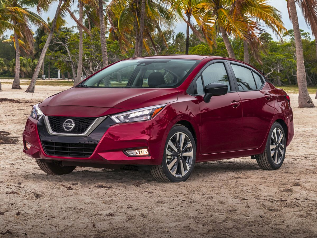 used 2020 Nissan Versa car, priced at $17,330