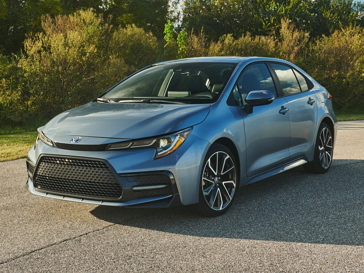 new 2021 Toyota Corolla car, priced at $20,051