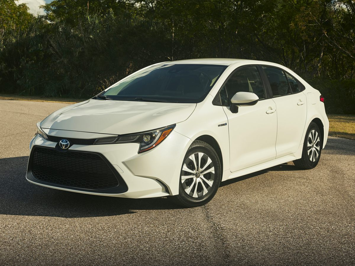 new 2021 Toyota Corolla Hybrid car, priced at $24,844
