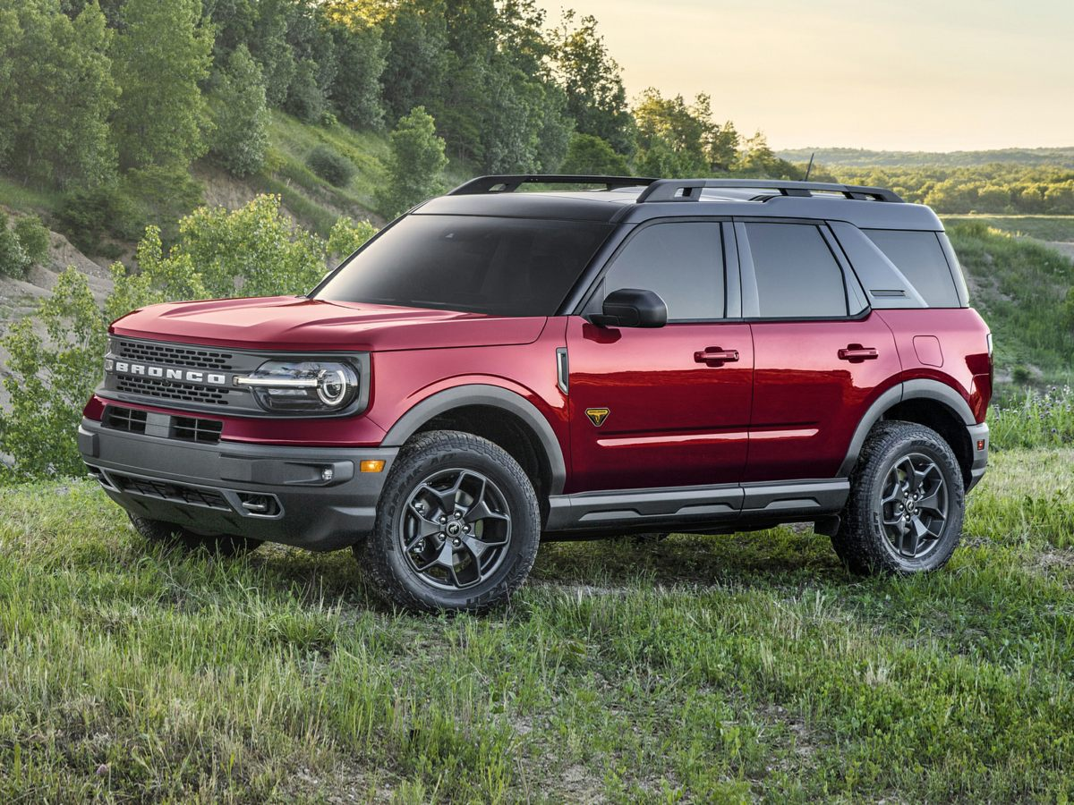 new 2021 Ford Bronco Sport car, priced at $28,315